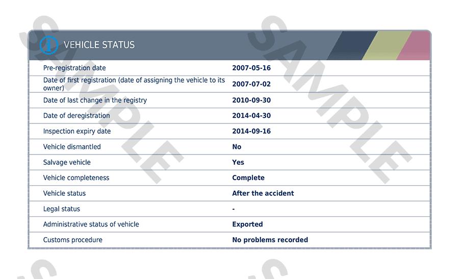 autoDNA Vehicle History Report for Belgian vehicles | autoDNA