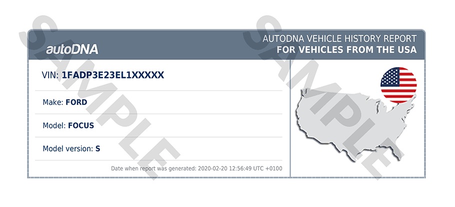 autoDNA Vehicle History Report for vehicles from the USA   autoDNA