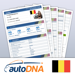 Check history of the car from Belgium after VIN autoDNA! vehicle History