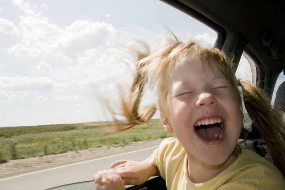 How to drive in strong wind?