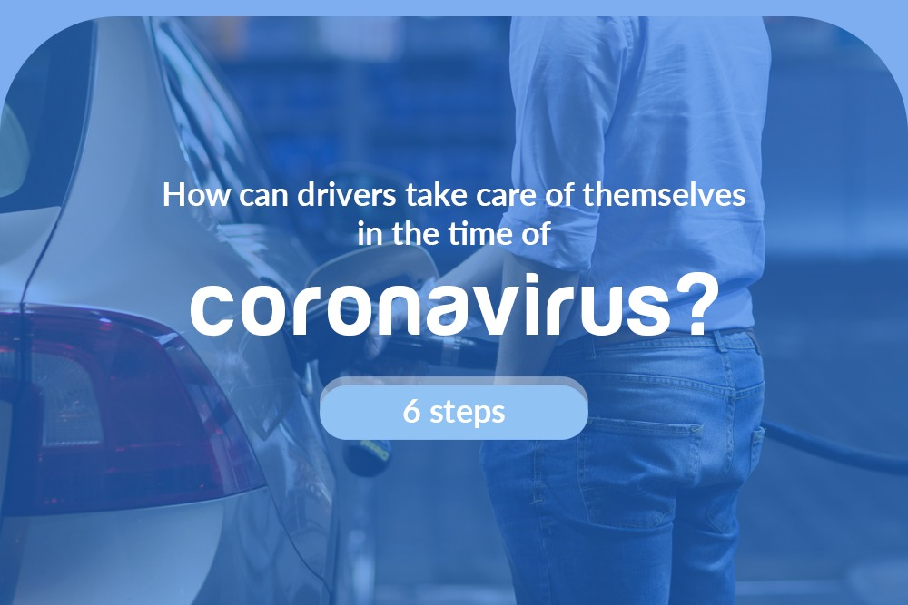 How can drivers take care of themselves in the time of coronavirus?