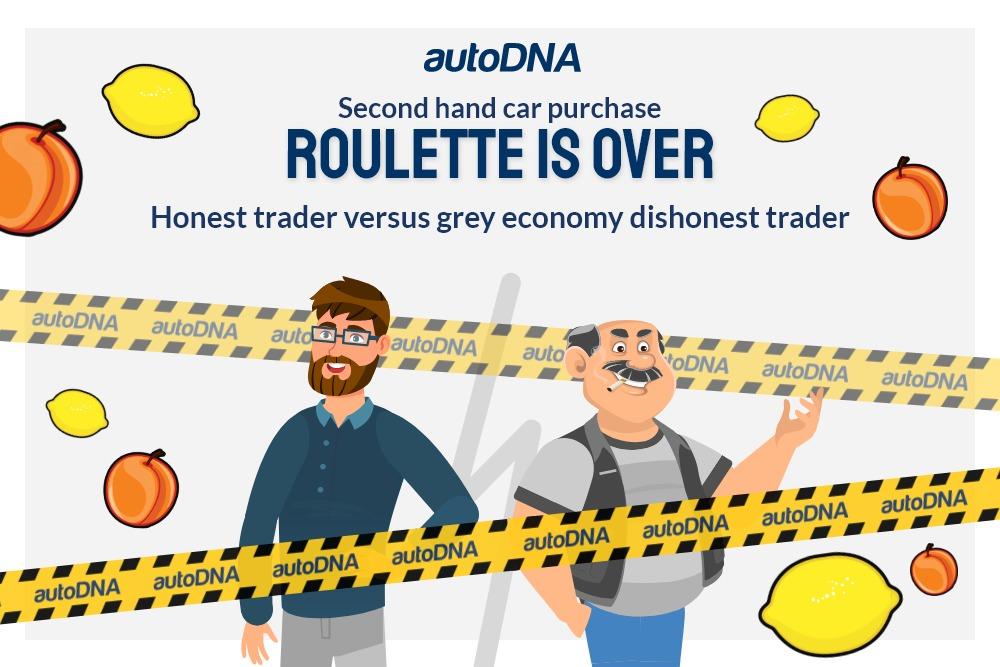 Honest trader grey economy dishonest trader