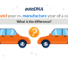 Model year vs. manufacture year of a car: what is the difference?