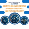 Odometer clocking: how much can you lose?