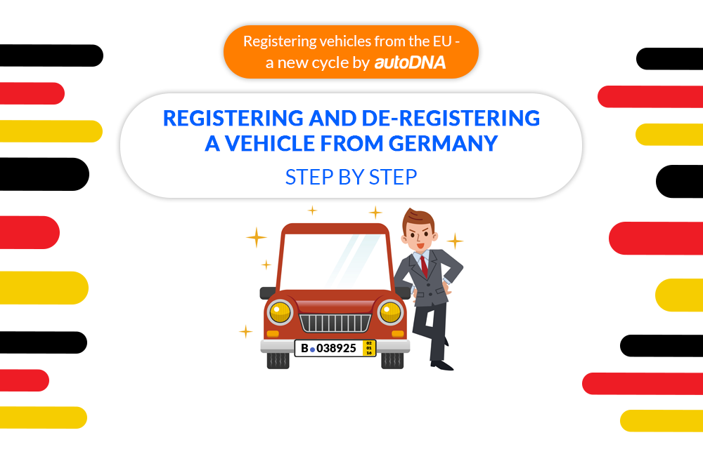 registering and de-registering a vehicle from germany