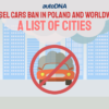 Diesel cars ban in Poland and worldwide. A list of cities